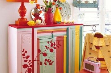 L'art de peindre sur meuble ancien