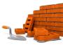 Monter un mur en brique et construire les fondations