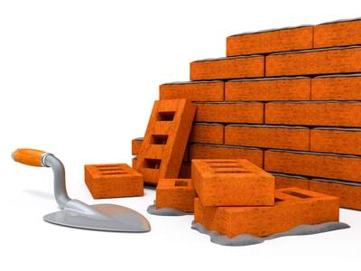 Construire un mur en brique