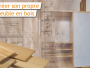 Construire un meuble en bois : 3 étapes pour réussir