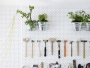 DIY : 5 idées déco à faire avec de l'isorel perforé