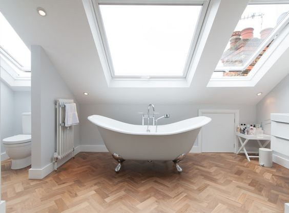 Comment aménager une salle de bain sous les combles ?