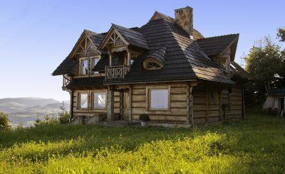 Construction d'une maison en bosis