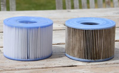 Changer filtre spa