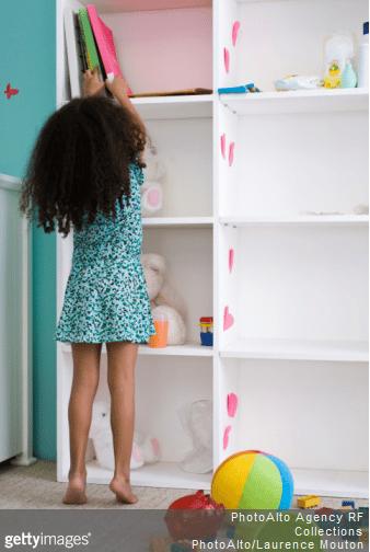 Nos idées pour créer des espaces de rangement pour les jouets des enfants